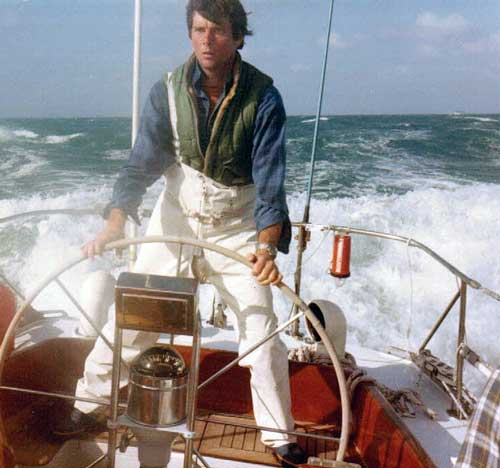 Gary Jobson in the infamous Fastnet Race