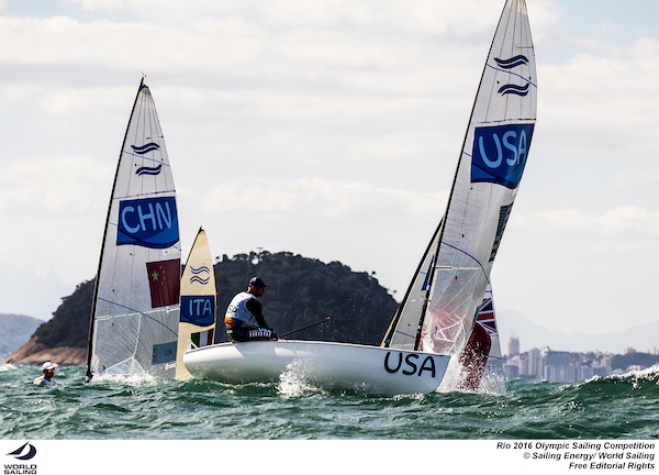 Caleb Paine - Finn - USA - Rio - photo by Sailing Energy - World Sailing