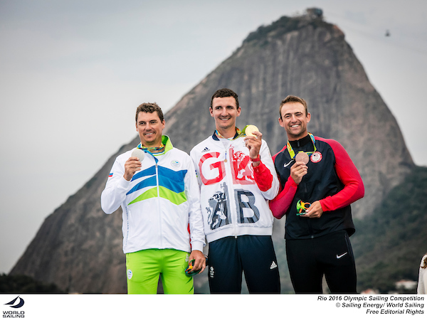 081616 RIO2016 Finn-Medalists-photobySailingEnergy-WorldSailing-sm