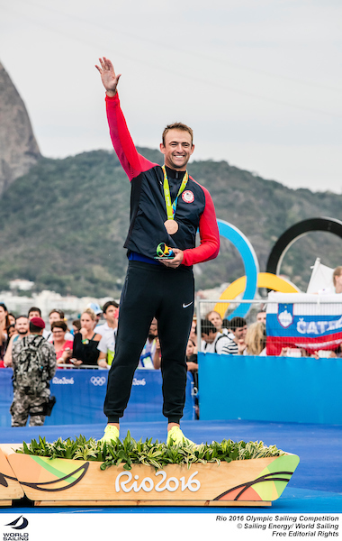 081616 RIO2016 Finn-USA-Caleb Paine-photobySailingEnergy-WorldSailing-sm